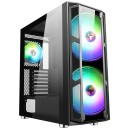 Case MAJES 20 - Gaming Full Tower, 2x20cm ARGB fan, USB3, Front & Side Panel Temp Glass
